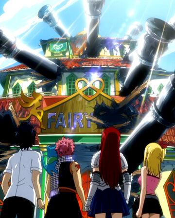 Phantom Lord arc   Fairy Tail Wiki   Fandom