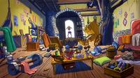 Inside Natsu's house