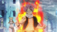 Natsu frees everyone from Invel's Magic