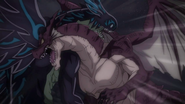 Igneel crashes into Acnologia