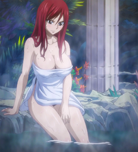 OVA 4 - Erza at the hot springs