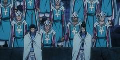 Doranbolt y Lahar dispuestos a proteger el futuro (anime)