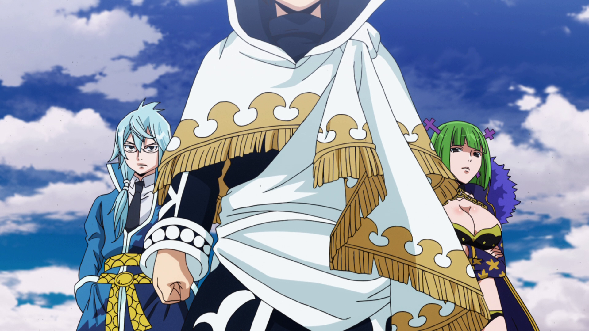 Fairy Tail Manga Image Zeref Brandish And Invel Appear Png