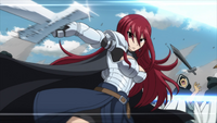 Erza defeats Avatar members
