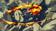 Natsu destroy Temple