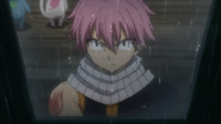 Natsu promises to find Gray