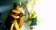 Bisca and Alzac during Makarov's Fairy Law