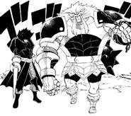 Four Heraldry Knights