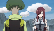 Erza's group accepts the request