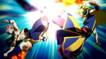 Natsu clashes with Zancrow