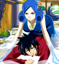 Gray inside Juvia's body