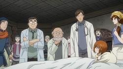 Mako, Miko y el Herrero Preocupados por la Salud de Mavis