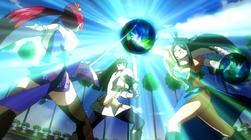 Erza Scarlet vs. Kagura Mikazuchi vs. Minerva