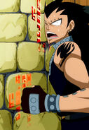 Gajeel stuck