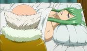 Makarov junto a Freed anime
