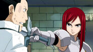 Erza threatens Kageyama