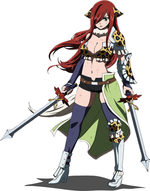 Dragon Cry Erza