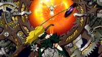 Imitatia tries to save Lucy