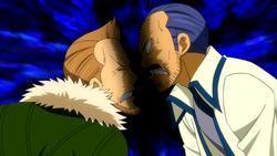 Wakaba y Macao discuten