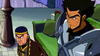 Darton and Arcadios discuss