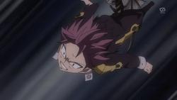 Igneel arroja a Natsu