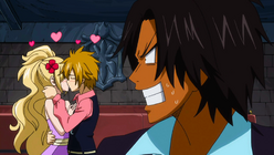 Ren molesto con Jenny y Hibiki