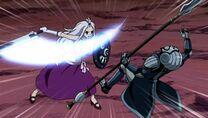 830px-Episode 92 - Edolas Mirajane with her sword