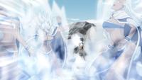 Gray freezes Briar