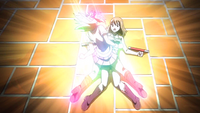 Lucy takes the attack for Elie