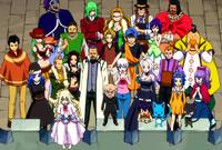 Fairy Tail patrzy na swoją nową drużynę