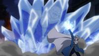 Lyon defeats a monster