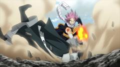 Natsu derrota a Arlock Anime
