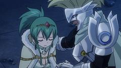 Arcadios protegiendo a la princesa