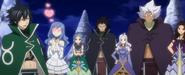Fairy Tail Members ready to go to Celestial Spirit World