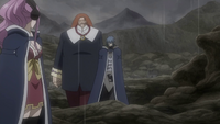 Jellal making his way to the others