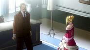 Mr. Heartfilia talks with Lucy