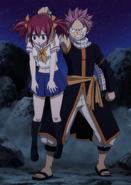 Natsu grabs Sherria