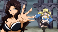 Cana in the card battle