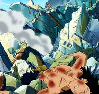 Gajeel defeated by Natsu