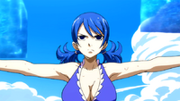 Juvia's training