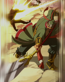 San Jao Shin ataca a loke