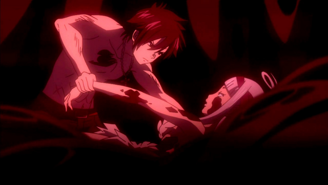 File:Gray tries to pull out Angel.png