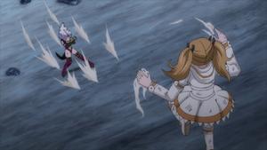 Juliet attacking Mirajane