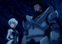 Yukino and Arcadios appear