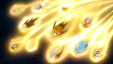 Los espíritus del zodiaco van hacia Eclipse