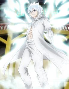 Zeref con el poder de Fairy Heart