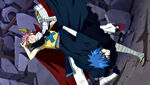 Mystogan vs. The Great Demon-Lord Dragneel