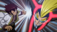 Racer and Cobra attack Jellal
