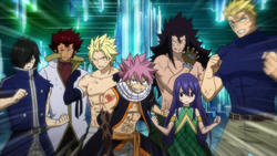 All Dragon Slayers in action