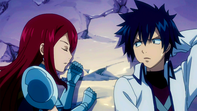 File:Gray and Erza sleeps together.png